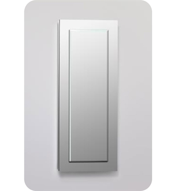 "Robern DC1640D4MGSN11 Decorative 15 1/4"" x 39 3/8"" x 4"" Framed Cabinet With Cabinet Hinge: No Electric, Left or Right Hinge And Style and Color: Tinted Gray Mirror <strong>(USUALLY SHIPS IN 2-3 WEEKS)</strong>"