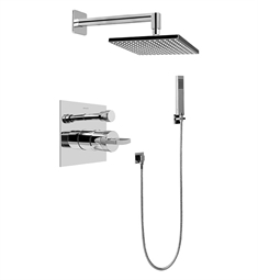 Graff G-7295-C14S Contemporary Pressure Balancing Shower Set