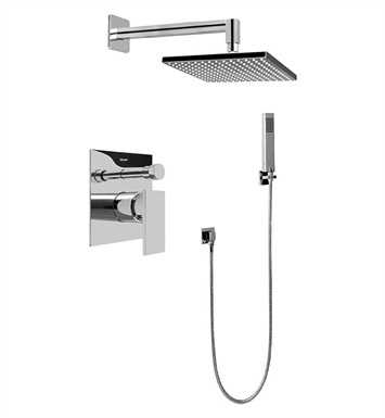 Graff G-7295-LM31S-PC Contemporary Pressure Balancing Shower Set With Finish: Polished Chrome