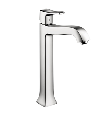 Hansgrohe 31078831 Metris C Single Hole Faucet, Tall With Finish: Polished Nickel