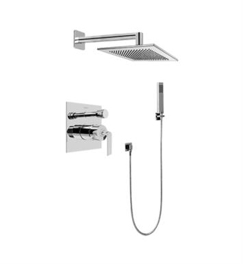 Graff G-7295-LM40S-SN Immersion Contemporary Pressure Balancing Shower Set with Handshower With Finish: Steelnox (Satin Nickel) And Rough / Valve: Trim + Rough