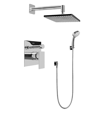Graff G-7296-LM31S-SN Contemporary Pressure Balancing Shower Set With Finish: Steelnox (Satin Nickel)