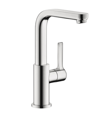 Hansgrohe 31161821 Metris S Single Hole Faucet, Tall With Finish: Brushed Nickel