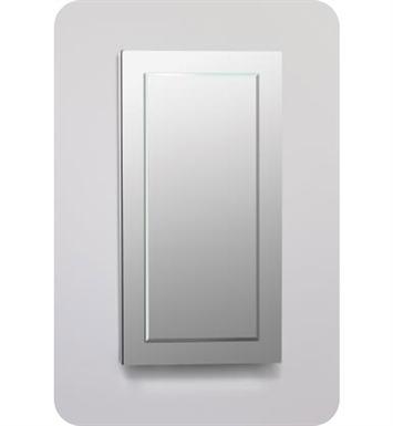 "Robern DC2040D6MGSN11 Decorative 19 1/4"" x 39 3/8"" x 6"" Framed Cabinet With Cabinet Hinge: No Electric, Left or Right Hinge And Style and Color: Tinted Gray Mirror <strong>(USUALLY SHIPS IN 2-3 WEEKS)</strong>"