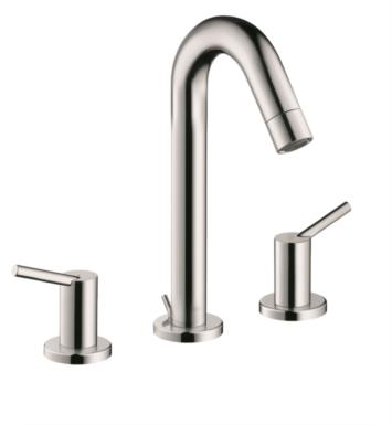 "Hansgrohe 32310001 Talis S 4 3/8"" Double Handle Widespread/Deck Mounted Bathroom Faucet with Pop-Up Assembly With Finish: Chrome"