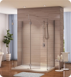 Fleurco Evolution 5' Walk in Shower Enclosure V56302 with Round Top