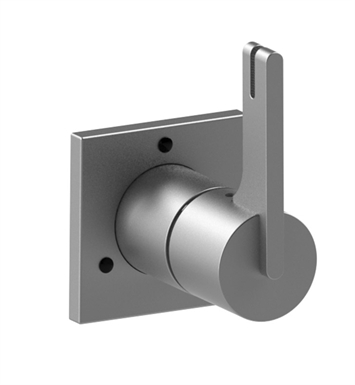 Rubinet 2XRTLCHCH R10 Two Way Diverter with Shut-Off With Finish: Main Finish: Chrome | Accent Finish: Chrome