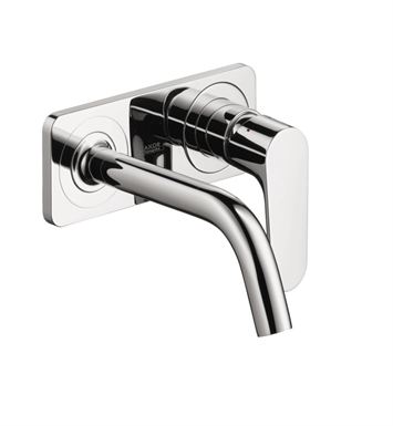 Hansgrohe 34115001 Axor Citterio M Wall Mounted Single Hole Faucet Trim with Base Plate With Finish: Chrome