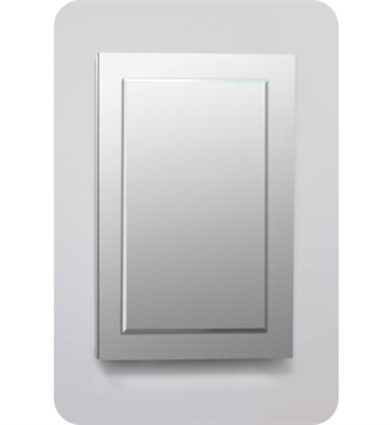 "Robern DC2440D4MGSN19 Decorative 23 1/4"" x 39 3/8"" x 4"" Framed Cabinet With Cabinet Hinge: No Electric, Left or Right Hinge And Style and Color: Satin White <strong>(USUALLY SHIPS IN 3-4 WEEKS)</strong>"