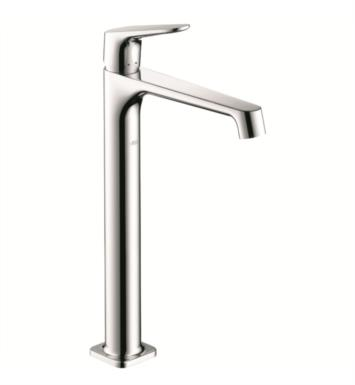 "Hansgrohe 34120821 Axor Citterio M 6 3/4"" Single Handle Deck Mounted Tall Bathroom Faucet with Pop-Up Assembly With Finish: Brushed Nickel"