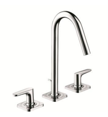 "Hansgrohe 34133001 Axor Citterio M 5 5/8"" Widespread/Double Handle Deck Mounted Bathroom Faucet with Pop-Up Assembly With Finish: Chrome"