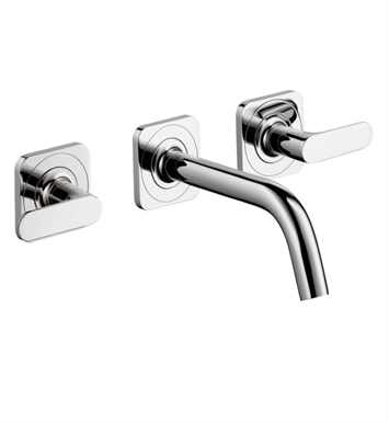 Hansgrohe 34315001 Axor Citterio M Wall Mounted Widespread Faucet With Finish: Chrome