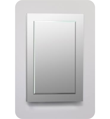"Robern DC2440D6MGSN11 Decorative 23 1/4"" x 39 3/8"" x 6"" Framed Cabinet With Cabinet Hinge: No Electric, Left or Right Hinge And Style and Color: Tinted Gray Mirror <strong>(USUALLY SHIPS IN 2-3 WEEKS)</strong>"
