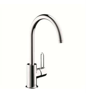 "Hansgrohe 38030 Axor Uno 6 7/8"" Single Handle Deck Mounted Bathroom Faucet with Pop-Up Assembly"