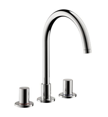 Hansgrohe 38053821 Axor Uno Widespread Faucet With Finish: Brushed Nickel