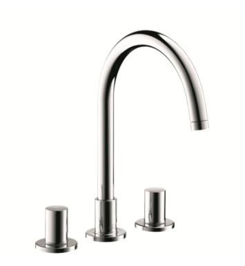 "Hansgrohe 38053 Axor Uno 6 7/8"" Double Handle Widespread/Deck Mounted Bathroom Faucet with Pop-Up Assembly"