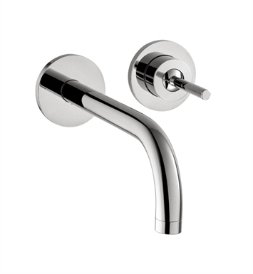 Hansgrohe 38118001 Axor Uno Wall Mounted Single Handle Faucet Trim With Finish: Chrome