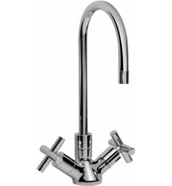 "Graff G-5210-C5-PC Infinity 5 1/8"" Double Handle Deck Mounted Bar Kitchen Faucet With Finish: Polished Chrome"
