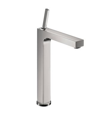 Hansgrohe 39020001 Axor Citterio Single Hole Faucet, Tall With Finish: Chrome