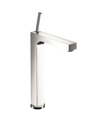 "Hansgrohe 39020001 Axor Citterio 8"" Single Handle Deck Mounted Bathroom Faucet With Finish: Chrome"