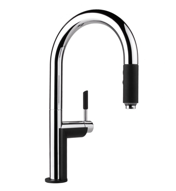 Graff G-4852-PC Oscar Pull Down Kitchen Faucet With Finish: Polished Chrome