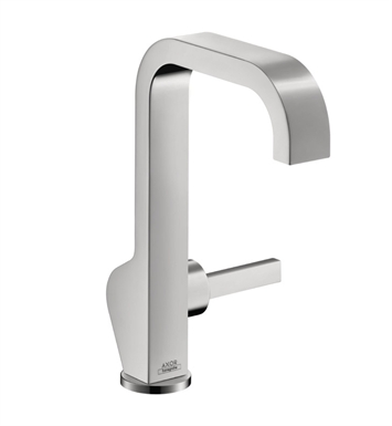 Hansgrohe 39034001 Axor Citterio Single Hole Faucet, Tall With Finish: Chrome