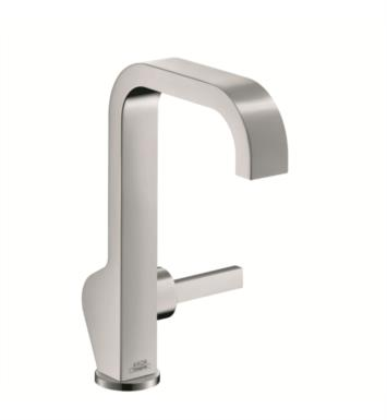"Hansgrohe 39034 Axor Citterio 8 1/4"" Single Handle Deck Mounted Bathroom Faucet with Pop-Up Assembly"