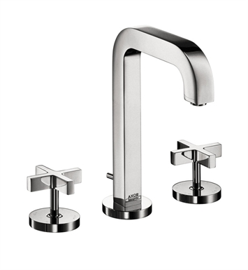Hansgrohe 39133 Axor Citterio Widespread Faucet with Cross Handles