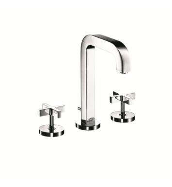 "Hansgrohe 39133 Axor Citterio 5 1/2"" Double Handle Widespread/Deck Mounted Bathroom Faucet with Pop-Up Assembly"