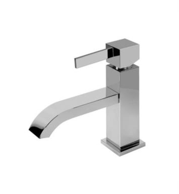 "Graff G-6202-LM39M-PC Qubic Tre 4 3/4"" Single Hole Bathroom Sink Faucet With Finish: Polished Chrome"