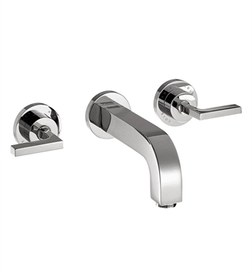 Hansgrohe 39147 Axor Citterio Wall Mounted Widespread Faucet with Lever Handles