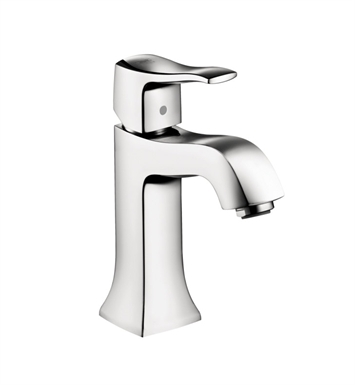 Hansgrohe 31077001 Metris C Single Hole Faucet without Pop up With Finish: Chrome