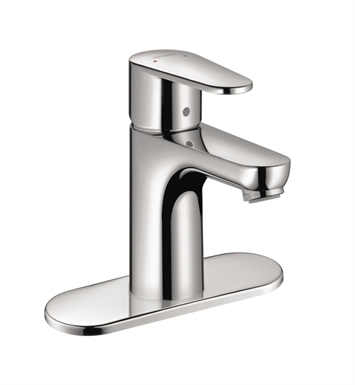 Hansgrohe 31612821 E Single Hole Faucet With Finish: Brushed Nickel