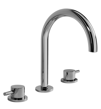 Graff G-6111-LM41B-SN M.E. 25 Widespread Lavatory Faucet With Finish: Steelnox (Satin Nickel)