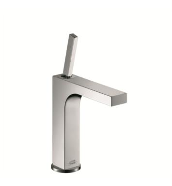 "Hansgrohe 39031821 Axor Citterio 6 7/8"" Single Handle Deck Mounted Bathroom Faucet with Pop-Up Assembly With Finish: Brushed Nickel"