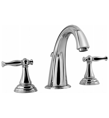 Graff G-2400-LM22-PC Lauren Widespread Lavatory Faucet With Finish: Polished Chrome