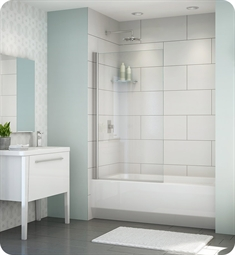 Fleurco Banyo Siena Solo Semi Frameless In Line Tub Shield