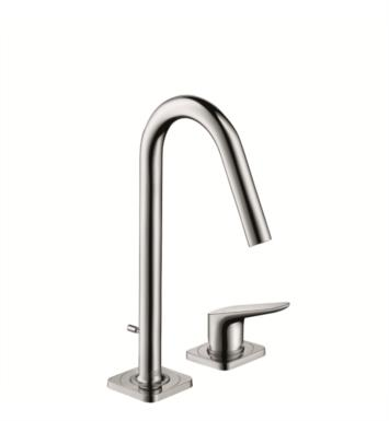 "Hansgrohe 34132001 Axor Citterio M 5 3/8"" Single Handle Deck Mounted Bathroom Faucet with Pop-Up Assembly With Finish: Chrome"