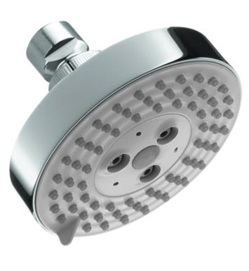 "Hansgrohe 04340820 Raindance S 100 Air Green 4"" Wall Mount Round 3-Jet Showerhead With Finish: Brushed Nickel"