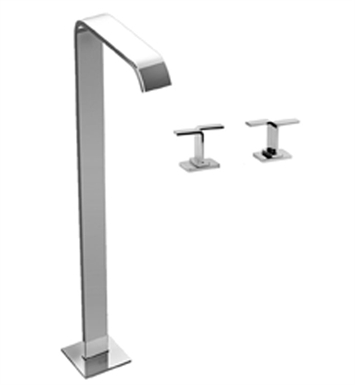 Graff G-2353-C9-PC Immersion Floor Mounted Tub Filler C9 Handle Set With Finish: Polished Chrome