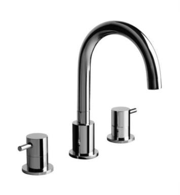 "Graff G-6150-LM37B-SN M.E. 7 5/8"" Double Handle Widespread/Deck Mounted Roman Tub Faucet With Finish: Steelnox (Satin Nickel)"
