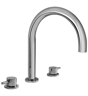 Graff G-6152-LM41B-PN M.E. 25 Roman Tub Faucet With Finish: Polished Nickel