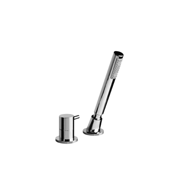 Graff G-6155-PC M.E. Deck Mounted Handshower and Diverter Set With Finish: Polished Chrome