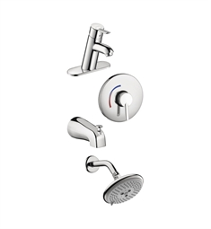 Hansgrohe Focus S Lav and Shower System Combo