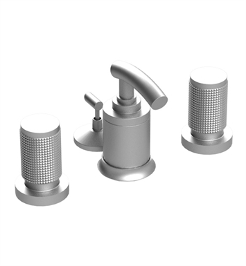 Rubinet 6CHOLSCSC H2O Bidet Fittings with Spray, Diverter with Built-In Vacuum Breaker & Pop-Up Assembly With Finish: Main Finish: Satin Chrome | Accent Finish: Satin Chrome