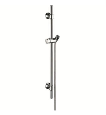 "Hansgrohe 27982821 Axor Montreux 38 3/4"" WallBar Handshower with Techniflex Hose With Finish: Brushed Nickel"