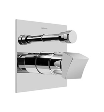 Graff G-7090-C10S-SN Pressure Balancing Valve Trim with Handle and Diverter With Finish: Steelnox (Satin Nickel)