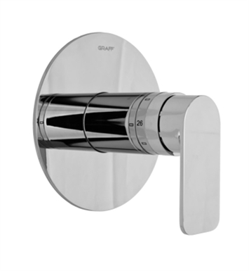 Graff G-8036-LM42S-WT Thermostatic Valve Trim with Handle With Finish: Architectural White