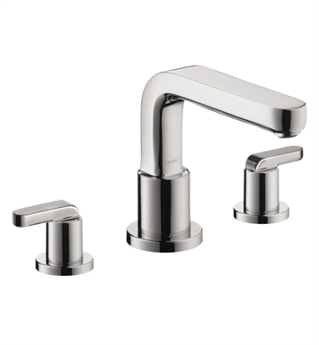 Hansgrohe 31438 Metris S 3 Hole Roman Tub Set Trim with Lever Handles