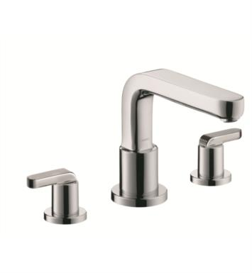 "Hansgrohe 31438001 Metris S 6 3/4"" Three Hole Widespread/Deck Mounted Roman Tub Set Trim with Lever Handle With Finish: Chrome"